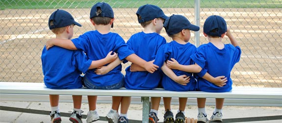 kids-baseball-team